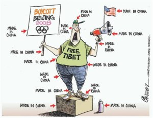 made in china, boycott beijing olympic